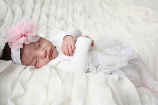 """Baby """"O"""" fast asleep"""