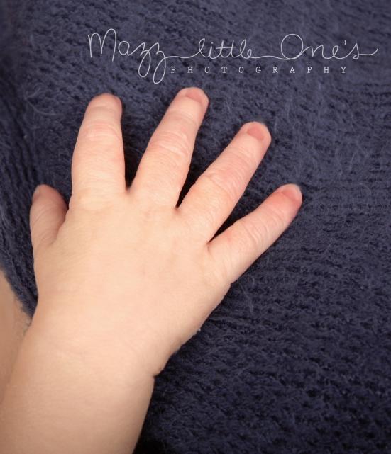 tiny hand