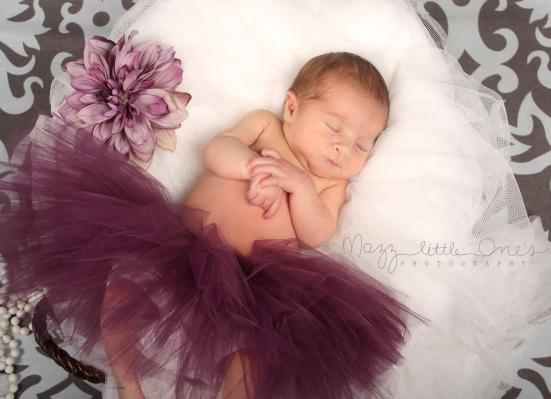 9 days purple tutu