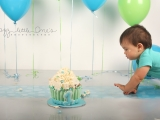 "Cutie-pie ""L"" turned ONE…Sneek Peek Cakesmash"