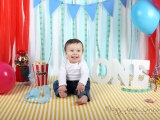 Circus themed CAKESMASH for One year old Filipe…