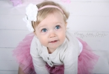 Pretty 1st birthday Session with Blue eyed beauty T…