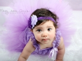 Baby doll G is turning ONE…pretty in Purple~