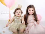 Beautiful sisters turning ONE & FOUR..<3<3