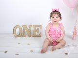 Sweetie baby girl G turns ONE